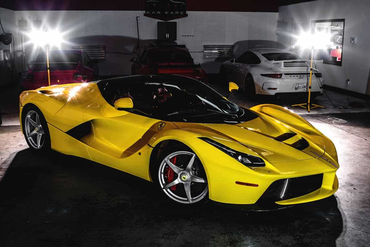 La Ferrari Protected By Paint Protection Of Charlotte